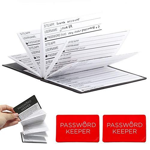 636643 2X Kikkerland Mini Password Book Accordion Organizer Keep Personal Reminder Gift