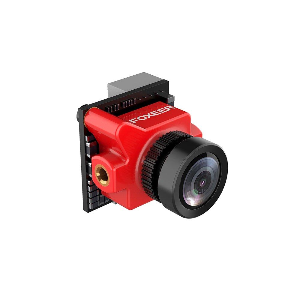 Foxeer Predator Micro FPV Camera 1000TVL 1.8MM Len NTSC Super WDR with OSD DC5V-40V,4ms Latency,4:3 Screen,Defog (Reduce The Blur, Image sharper) for FPV Rcaing Drone by Crazepony