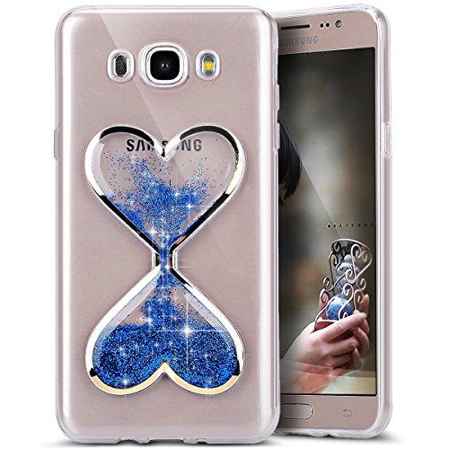 Galaxy-J7-2016-Case-Galaxy-J7-Liquid-Glitter-CasePHEZEN-Novelty-Flowing-Liquid-Floating-Luxury-Bling-Glitter-Sparkle-Quicksand-Clear-Soft-TPU-Case-for-Samsung-Galaxy-J7-2016