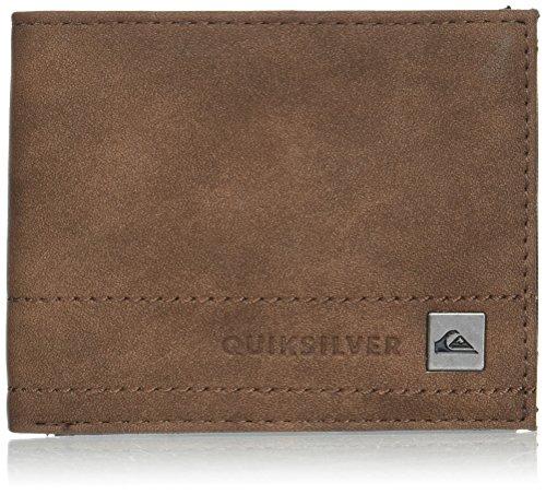 Quiksilver Men's STITCHY III Wallet, Chocolate, M