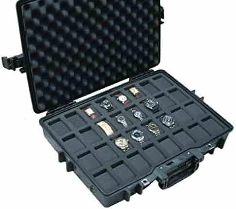 Case Club Waterproof 32 Watch Travel Case