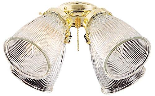 (Craftmade ECK756BB Four Light Fan Light Kit)