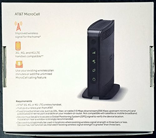 amazon com cisco at t microcell wireless cell signal booster tower rh amazon com AT&T MicroCell Registration AT&T LTE MicroCell