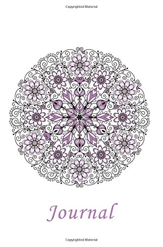 Journal: Flower Mandala (Purple) 6x9 - GRAPH JOURNAL - Journal with graph paper pages, square grid pattern (Mandala Design Graph Journal Series)