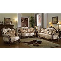 McFerran Home Furniture 3 Piece Contemporary Sofa Set, SF8700