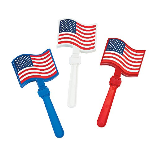 patriotic-usa-red-white-and-blue-american-flag-hand-clappers-12-pieces