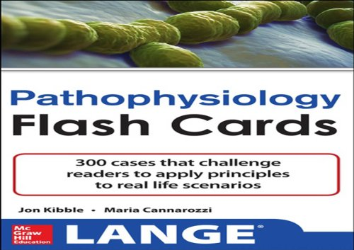 Pathophysiology Flash Cards (Lange Flash Cards) Pdf
