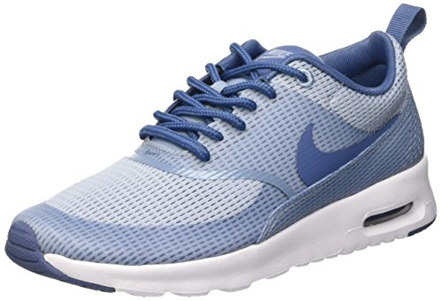 Nike Damen W Air Max Thea TXT Low-Top Azul (BLUE GREY/OCEAN FOG-WHITE)