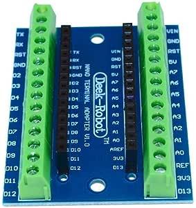 Standard Terminal Adapter Board for Arduino Nano V3.0 AVR ATMEGA328P ATMEGA328P-AU Module