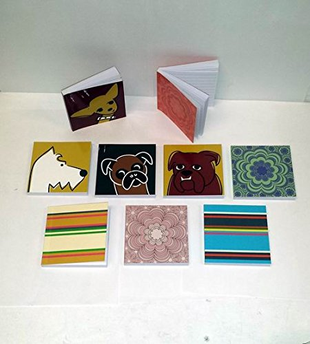 Lot of 36 Pieces - Assorted 3″ x 3″ Mini Journal Lined Notebooks