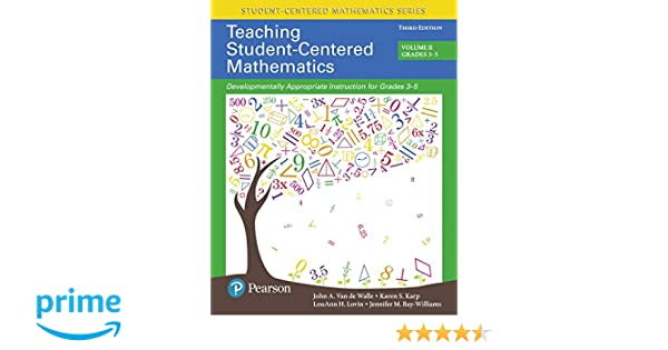 Amazon teaching student centered mathematics developmentally amazon teaching student centered mathematics developmentally appropriate instruction for grades 3 5 volume ii with enhanced pearson etext access fandeluxe Image collections