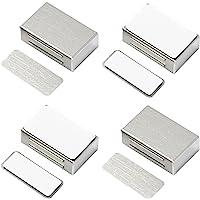 Kastdeurmagneten Zelfklevende Jiayi 4 Pack Magnetische deurvangst Heavy Duty roestvrijstalen kast magnetische vangsten…