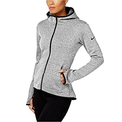 NIKE Womens Thermal Zipper Hoodie