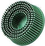 Scotch-Brite(TM) Roloc(TM) Bristle Disc, Ceramic, 25000 rpm, 2 Diameter, 50 Grit, Green (Pack of 10)
