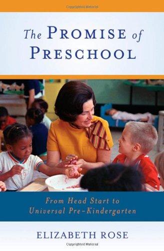 The Promise of Preschool: From Head Start to Universal Pre-Kindergarten