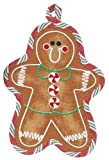 Gingerbread Man shape Pot Holder Holiday Treats Kitchen Decor Kay Dee Designs