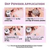Dip-Powder Gel-Liquid-Set with