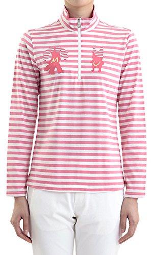 MU SPORTS(エム ユースポーツ) 2016ss レディスウェア L長袖シャツ ピンク Lサイズ 701U2402   B01AWDOSDY