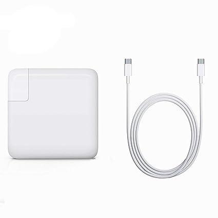 Amazon.com: BOLWEO 61W USB C Cargador para MacBook Pro 13 ...
