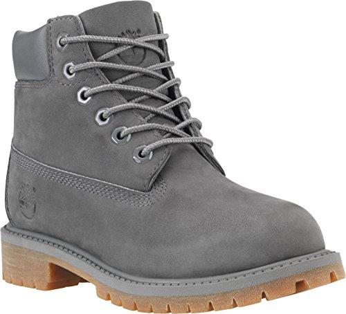 Timberland Junior Grey 6 Inch Premium Waterproof Boots-UK 3.5 1AWXsymk