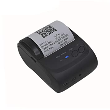 LLC- Printers Mini Impresora térmica inalámbrica, Bluetooth 58mm ...