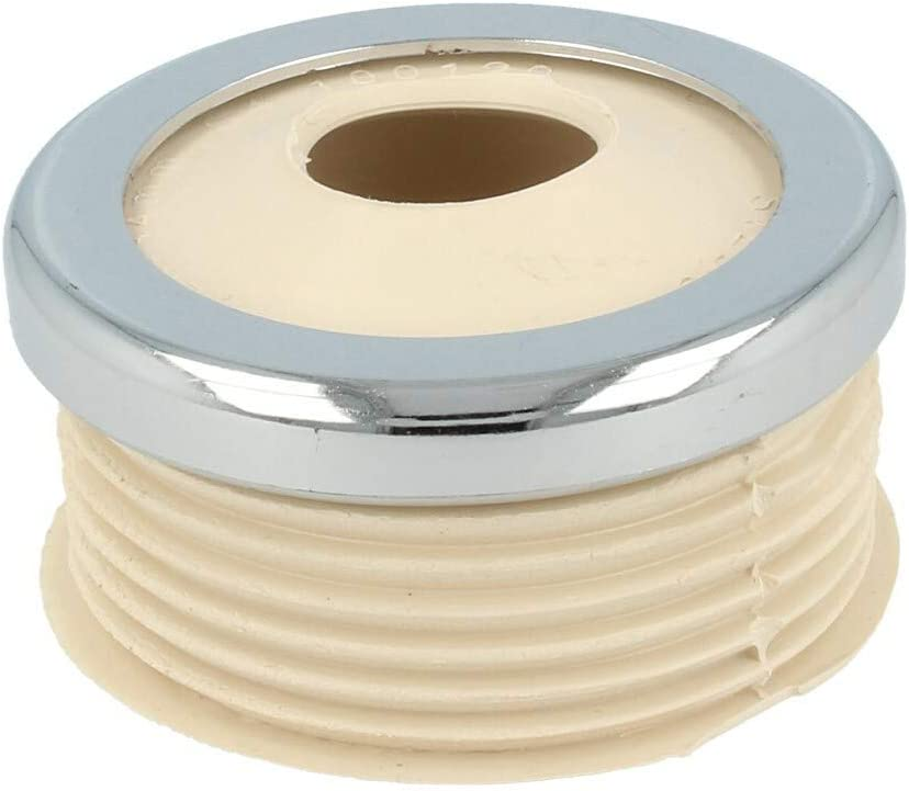mit Rosette ST100138 Euro WC-Sp/ülrohrverbinder /Ø 55 mm f/ür Drucksp/ülrohr wei/ß STEDO