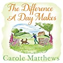 The Difference a Day Makes Audiobook by Carole Matthews Narrated by Annie Aldington