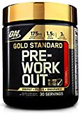 Optimum Nutrition Gold Standard Pre-Workout with Creatine, Beta-Alanine, and Caffeine for Energy, Flavor: