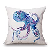 alphadecor pillow covers of seaanimal 18 x 18 inches / 45 by 45 cm,best fit for kids room,dining room,office,boys,bar,bedroom double sides