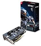 Sapphire 11266-09-20G Radeon NITRO+ RX 570 8GB GDDR5 DUAL HDMI / DVI-D / DUAL DP with backplate (UEFI) PCI-E Graphics Card