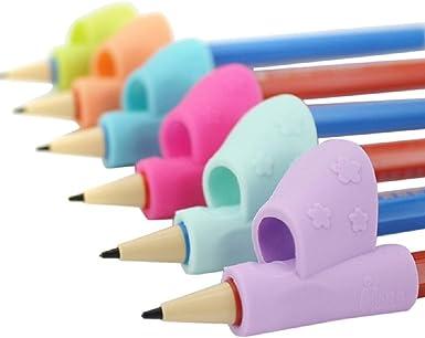 Empu/ñadura corrector pluma 3pcs//set ni/ños l/ápiz titular pluma escritura ayuda agarre postura correcci/ón herramienta
