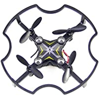 Hongfei RC Quadcopter Helicopter Drone,2.4GHz 4 Chanel 6 Axis Gyro RTF RC Quadcopter Mini F17 Professional with WIFI HD Camera