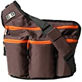 Diaper Dude - Messenger I Diaper Bag, Brown
