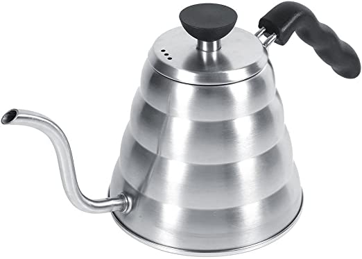 Quici vierta sobre cafetera eléctrica de goteo maceta té caliente ...