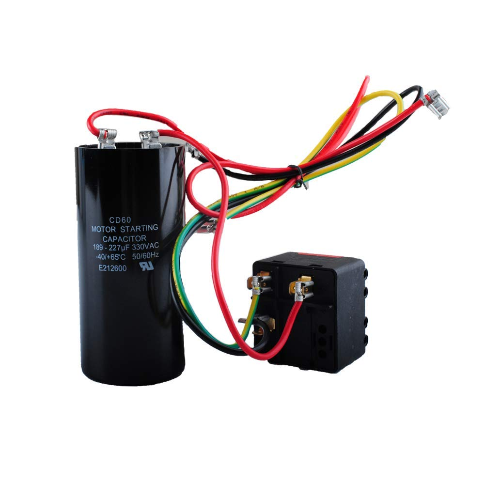 AC Hard Start Capacitor Compatible with 5-2-1 CSR-U2, Compressor Saver for 3.5-4- 5 Tons, Hvac Hard Start Kit