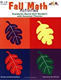 Fall Math Activities, Grade 1-3, Brenda Kaufmann, 1573104736