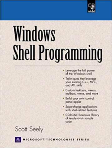 Windows Shell Programming (with CD-ROM): Scott Seely