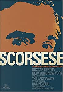 The Martin Scorsese Film Collection (New York, New York / Raging Bull Special Edition / The Last Waltz / Boxcar Bertha) (Sous-titres français) [Import]