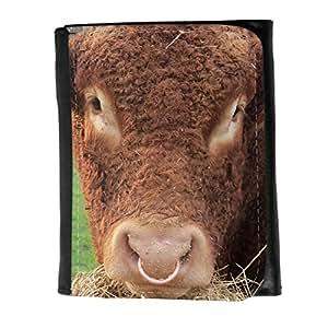 le portefeuille de grands luxe femmes avec beaucoup de compartiments // F00001979 vaca // Small Size Wallet