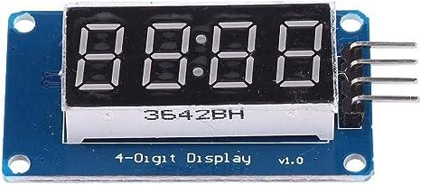 dailymall 4-bit Digital LED Dual 14-Segment Display Module Tubes ...