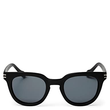 d859b0d40417 Amazon.com: Cheapo Wellington Sunglasses - Black / Black: Clothing