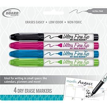 Amazon.com : The Board Dudes Dry Erase Markers Ultra Fine