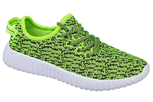 vert de et vert Chaussures fluo confortable très léger sport Taille 36–41 GIBRA® fluo 10ZxS