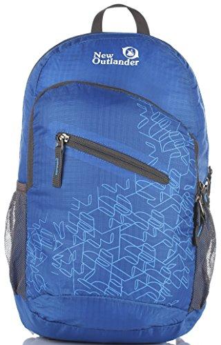 [Outlander Packable Handy Lightweight Travel Hiking Backpack Daypack-Dark Blue] (Hiking Travel Backpack)