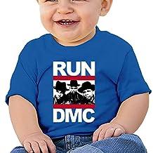 PONTAON Kids Toddler Hip Hop RUN DMC 100% Cotton Little Boys And Girls T-shirt RoyalBlue 18 Months