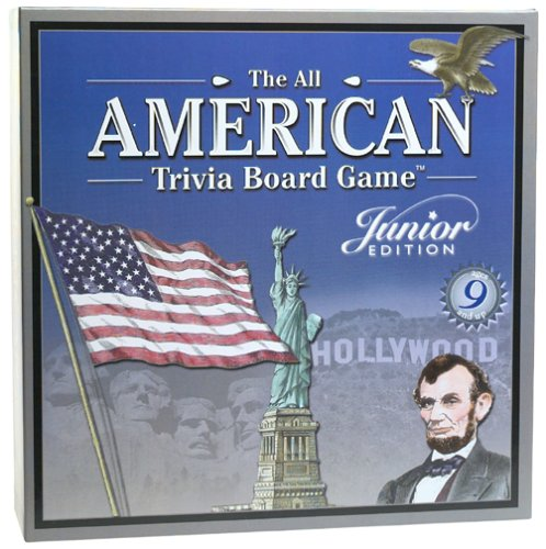 All American Trivia Junior Edition Board Game by Outset Media