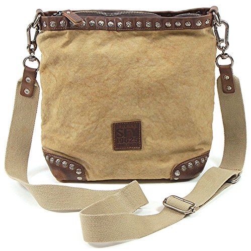 Suri Crossed Woman Taupe Frey One Bag Size 900 AqrAw1E