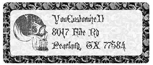 Skulls Return Address Labels (Personalized) -