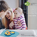 mockins 2 pack Mess Free Silicone Suction Baby