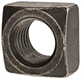 1-8 Steel Square Nut, 100 per Pack pack of 2